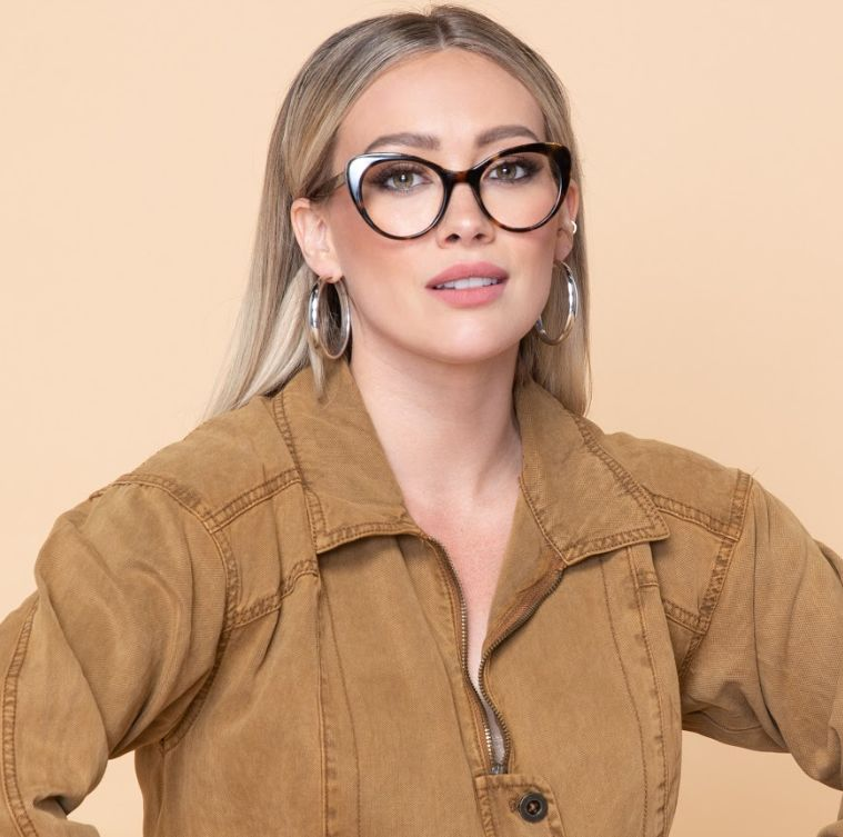 Dynamic Actress-Branded Glasses