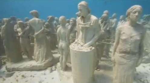 Deep Sea Statuettes