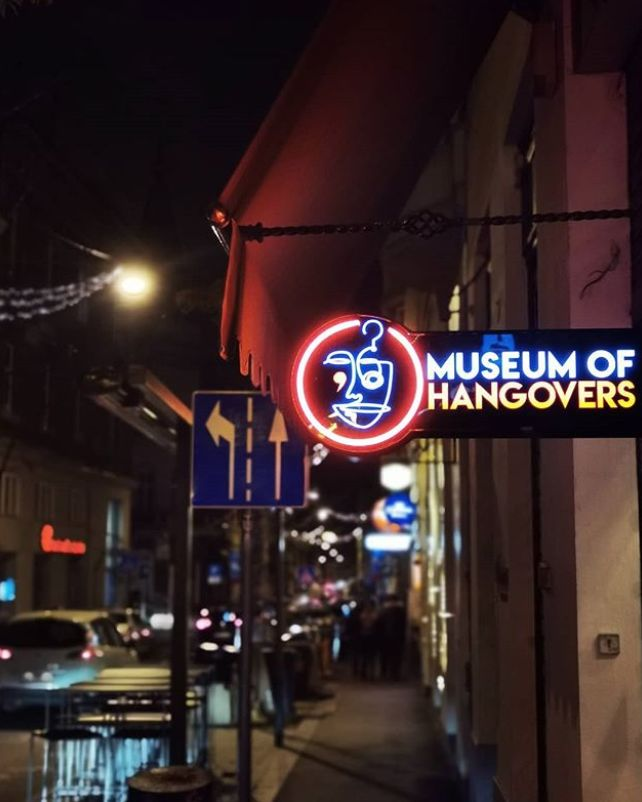 Dedicated Hangover Museums
