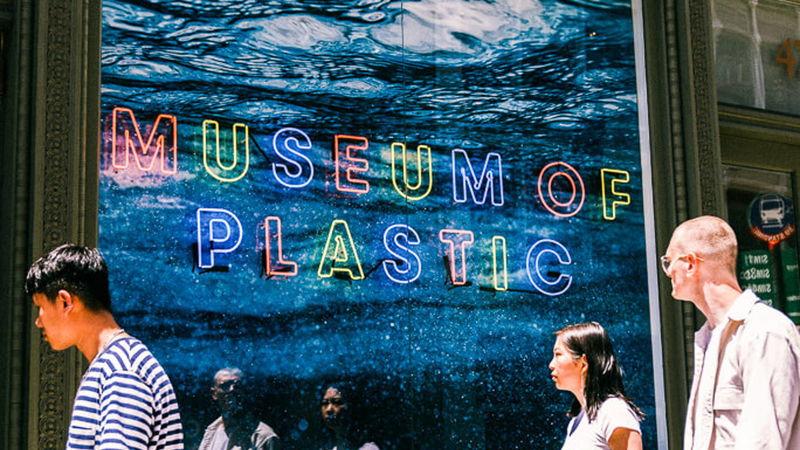 Pop-Up Plastic Museums