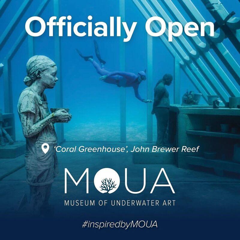Underwater Art Museums