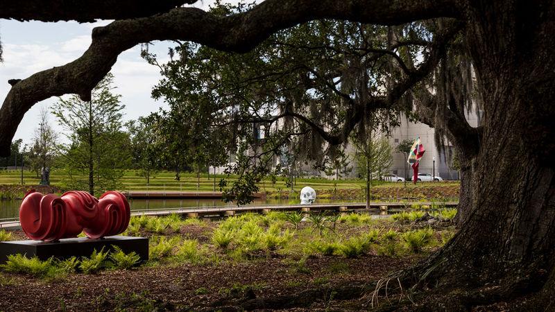 Extended Museum Sculpture Gardens
