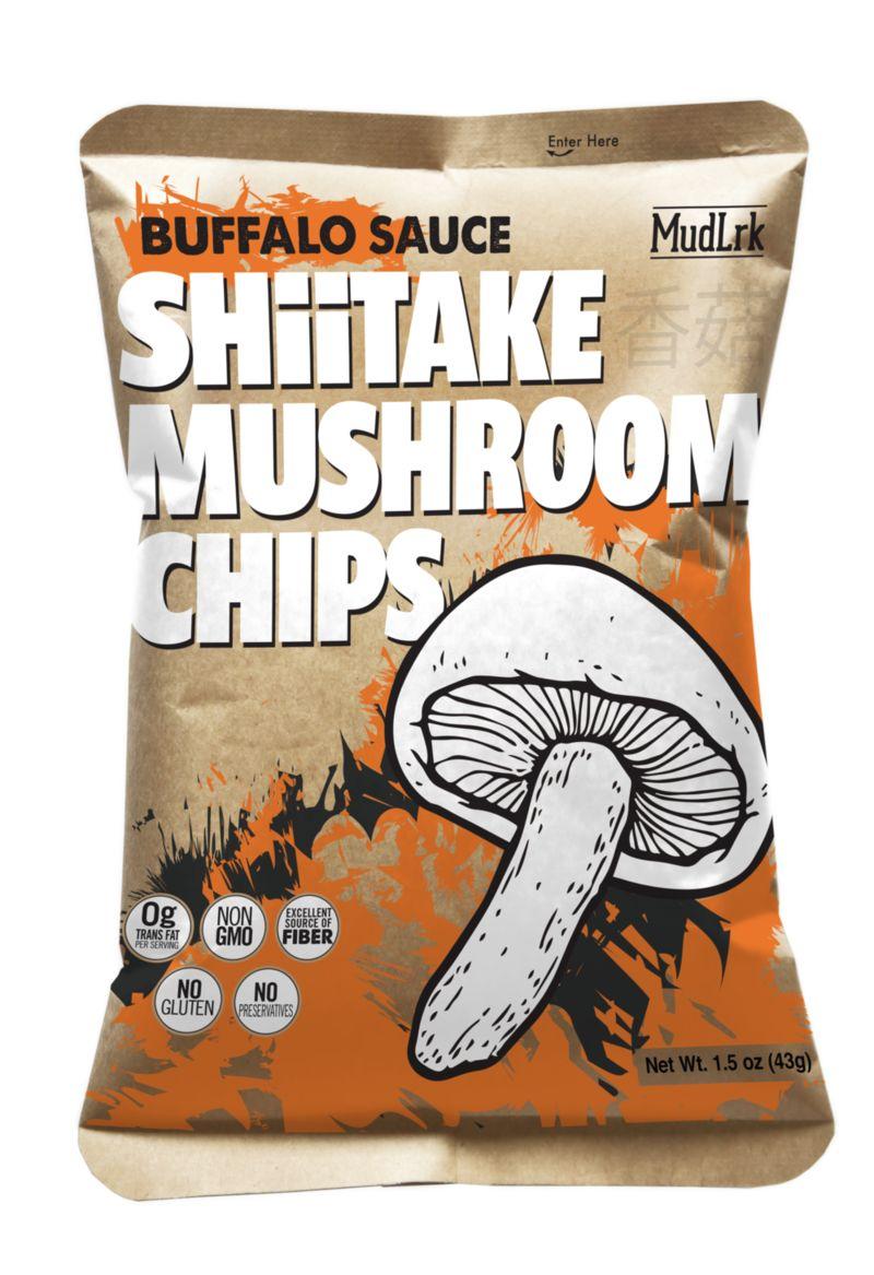 Seasoned Mushroom Chips
