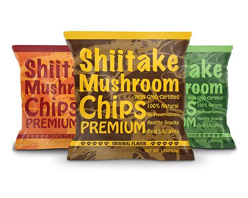 Whole Mushroom Chips