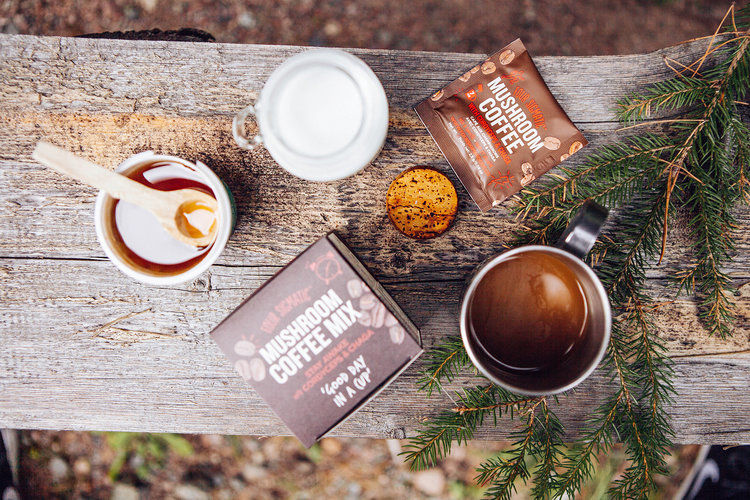 Mushroom Coffee Mixes