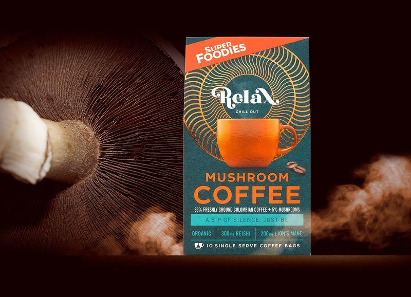 Adaptogenic Mushroom Coffees