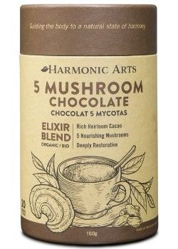 Restorative Mushroom Hot Chocolates