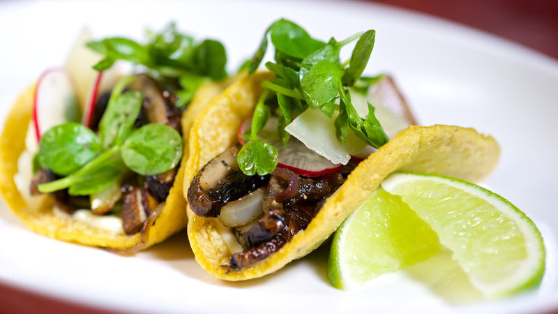 Meatless Mushroom Tacos