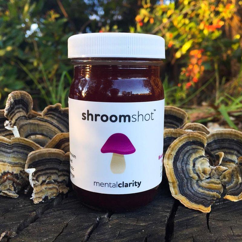 Mushroom Wellness Shots
