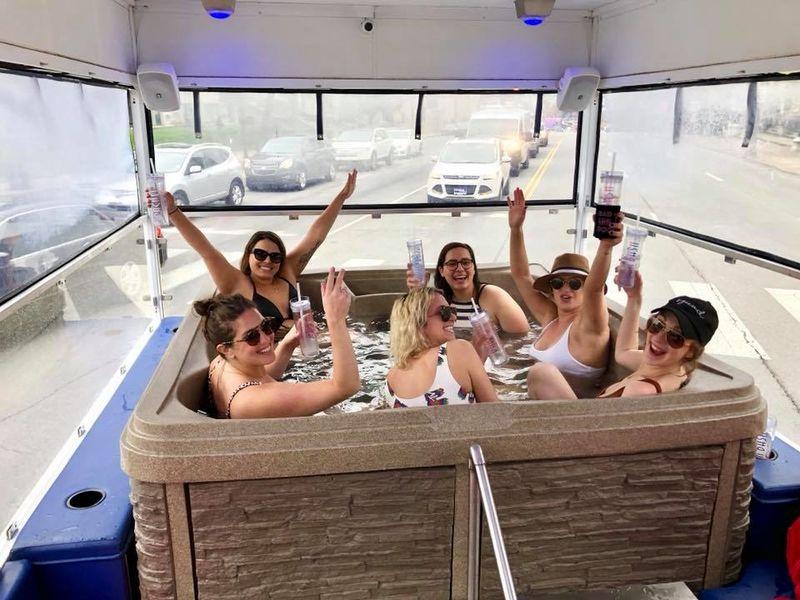 Mobile Hot Tub Tours
