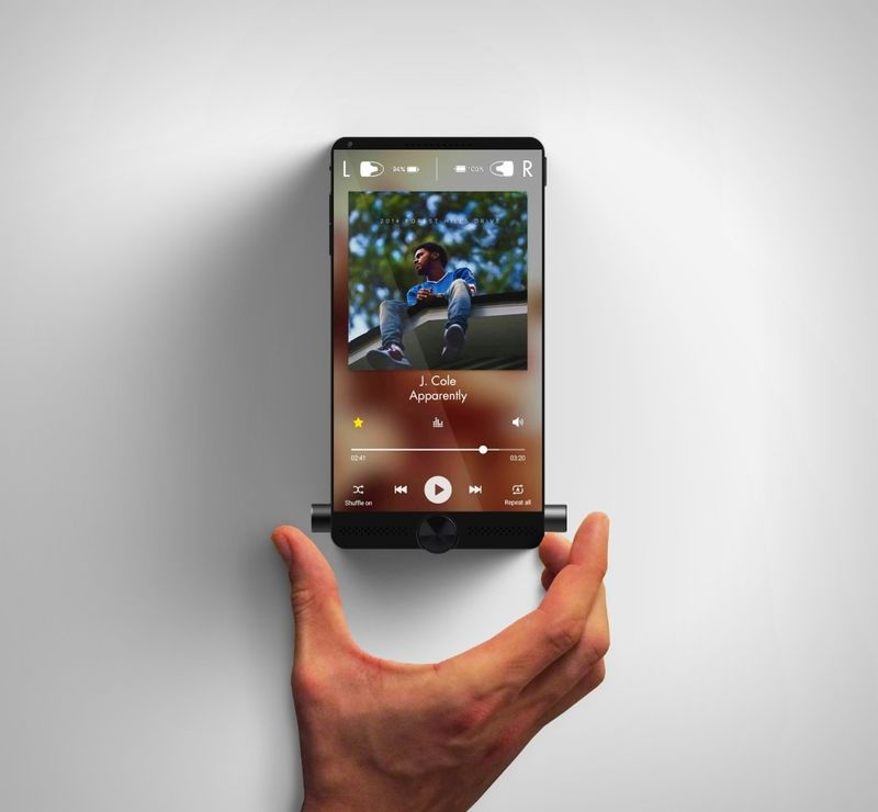 Music-Focused Smartphone Designs