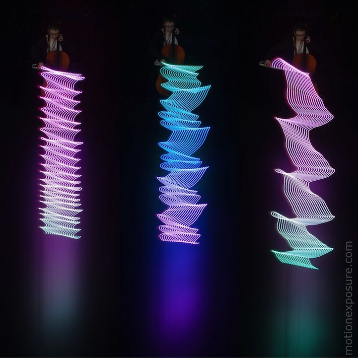 Musical Light Photography