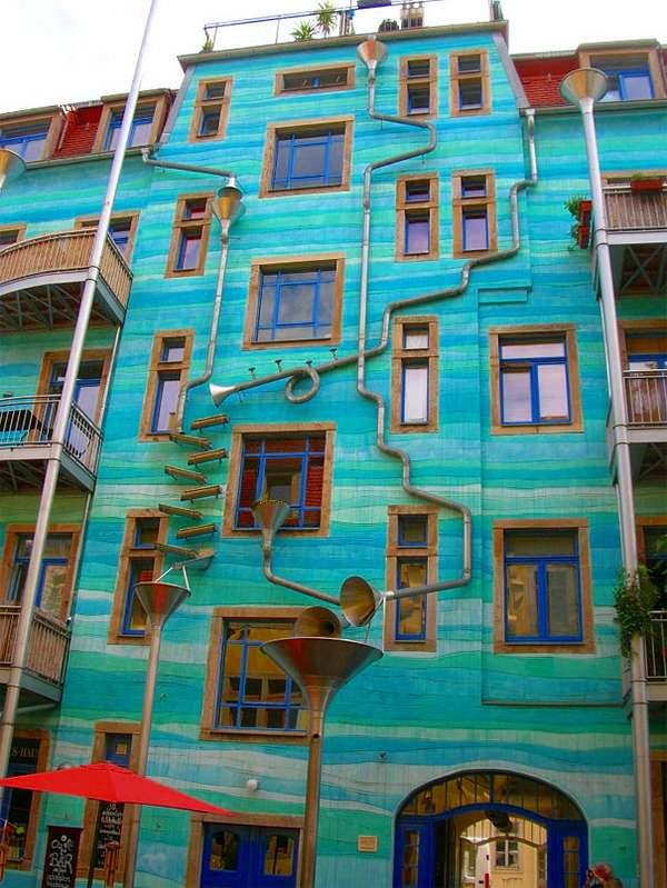 Musical Rain Murals