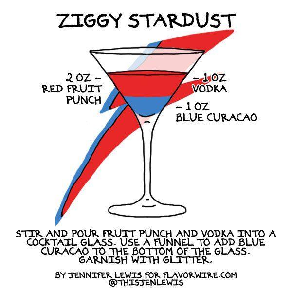Rockstar Cocktail Tributes