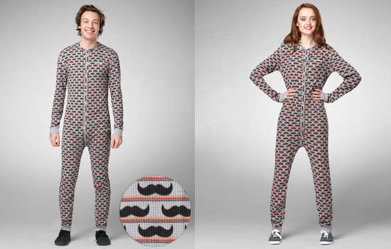 Manly Patterned Onesies