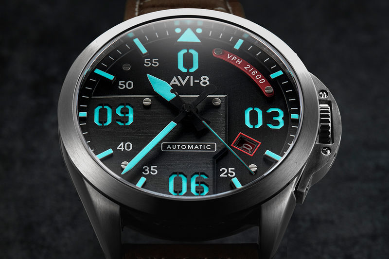 Airplane-Inspired Time Pieces - AVI-8 Has Created a Mustang Inspired Watch (TrendHunter.com)