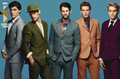 Sharply Dressed Group Shoots