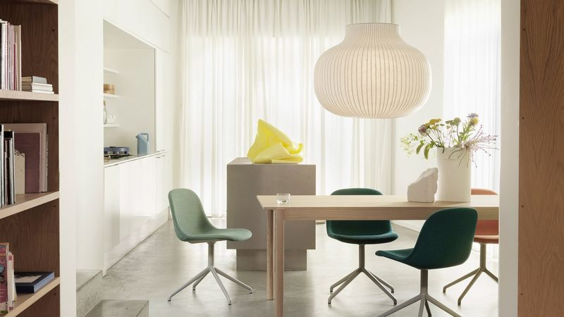 Silkworm-Inspired Pendant Lamps