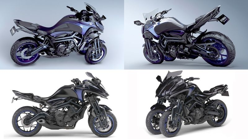 Tilting Concept Motorbikes