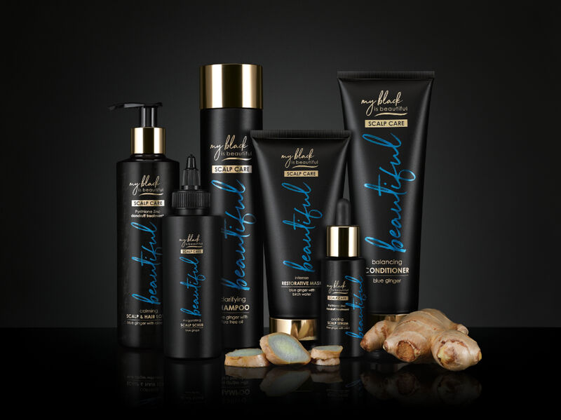Antioxidant-Rich Ginger Haircare
