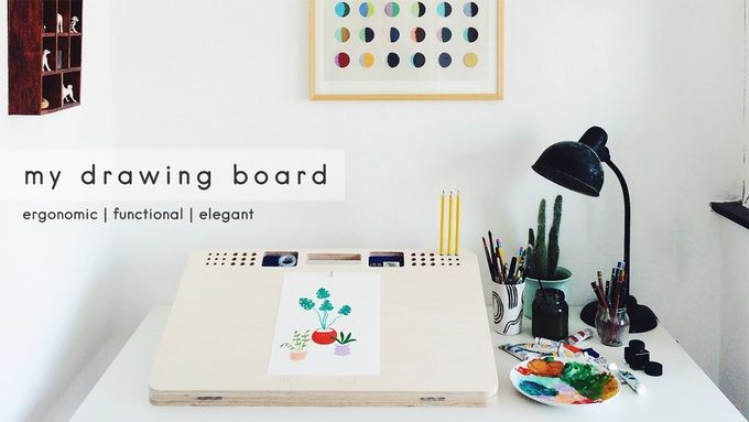 Motherboard Drawing: Ergonomic Drawing Boards : My Drawing Board