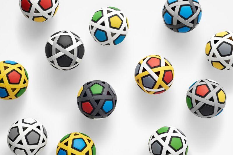 Flatpack Airless Soccer Balls