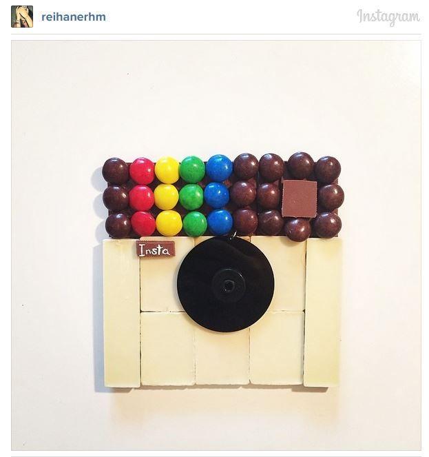 Inventive Logo Art My Instagram Logo