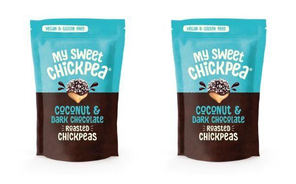Dark Chocolate-Covered Pea Snacks