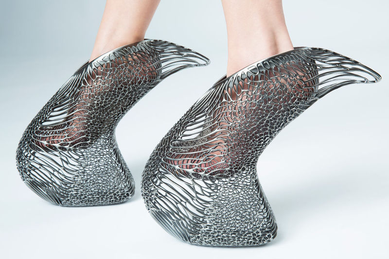 Luxe 3D-Printed Shoes