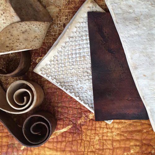 Fungal Leather Products