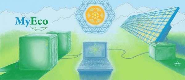 Solar-Powered Web Hosting