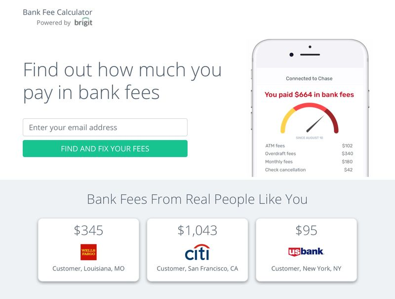 Bank Fee-Tracking Apps