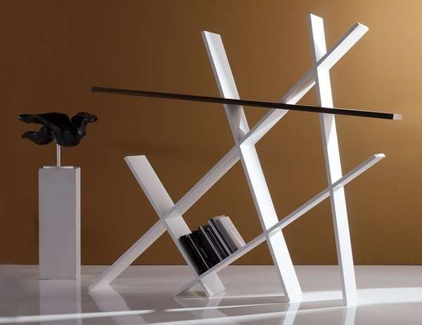 Artistic Sculptured Shelving