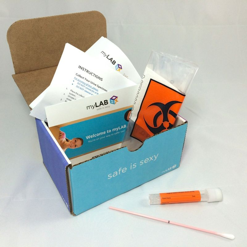 DIY STD Test Kits : myLAB box