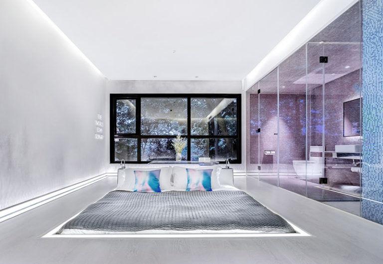 Sunken Hotel Bed Designs