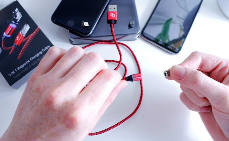 Three-in-One Connectivity Cords