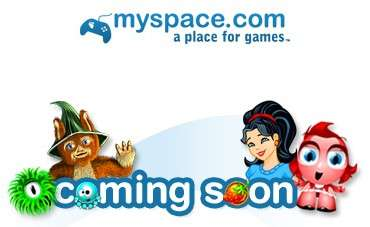 MySpace Games Coming Soon?