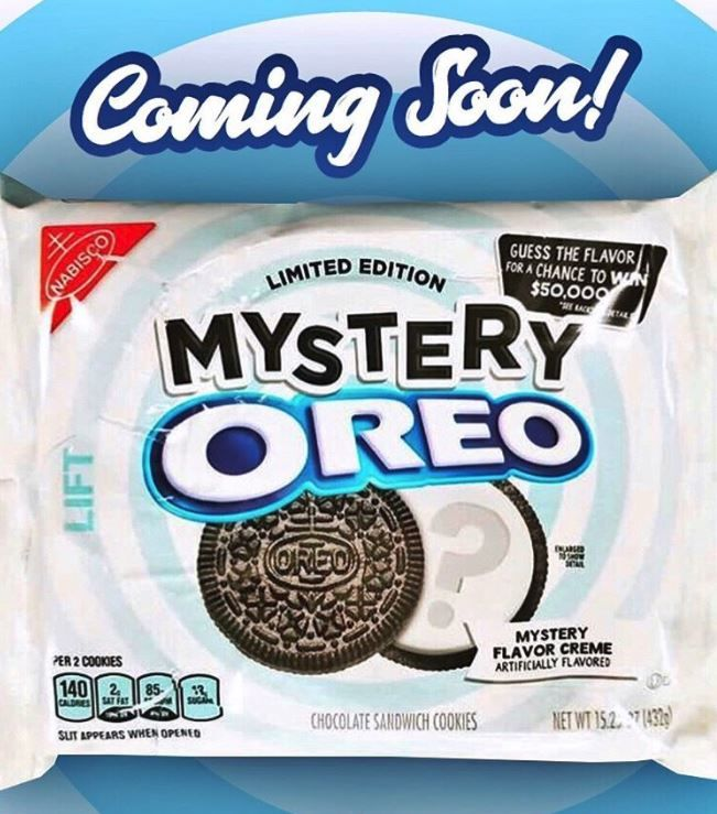 Mysterious Cookie Flavors