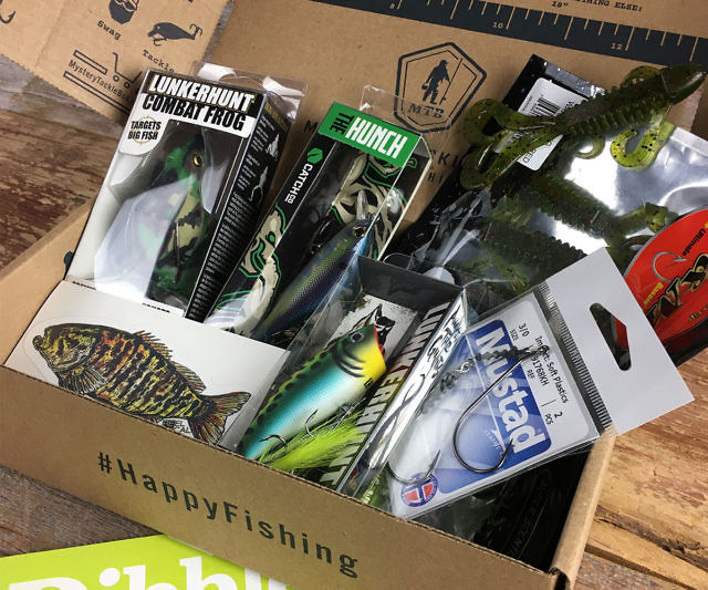 Fisherman subscription services mystery tackle box for Fishing box subscription