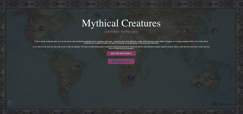 Interactive Mythical Creatures Guides