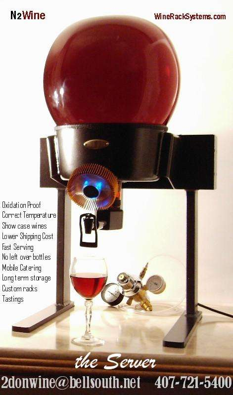 Spherical Wine Kegs