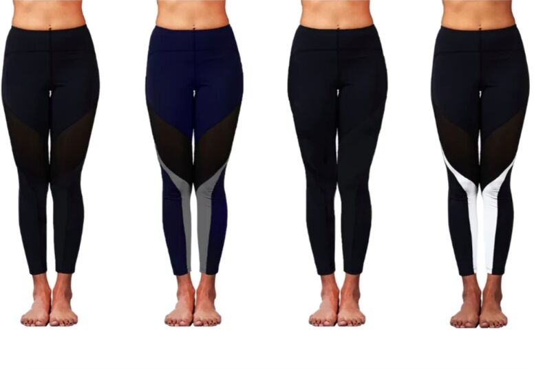 Position-Correcting Yoga Pants
