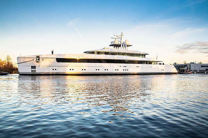 Efficient Cruising Superyachts