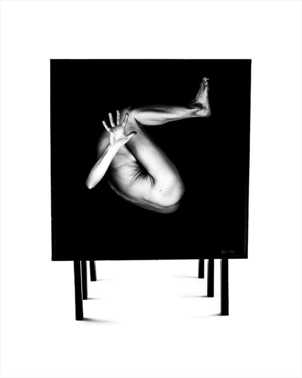 Contorted Naked Portraits