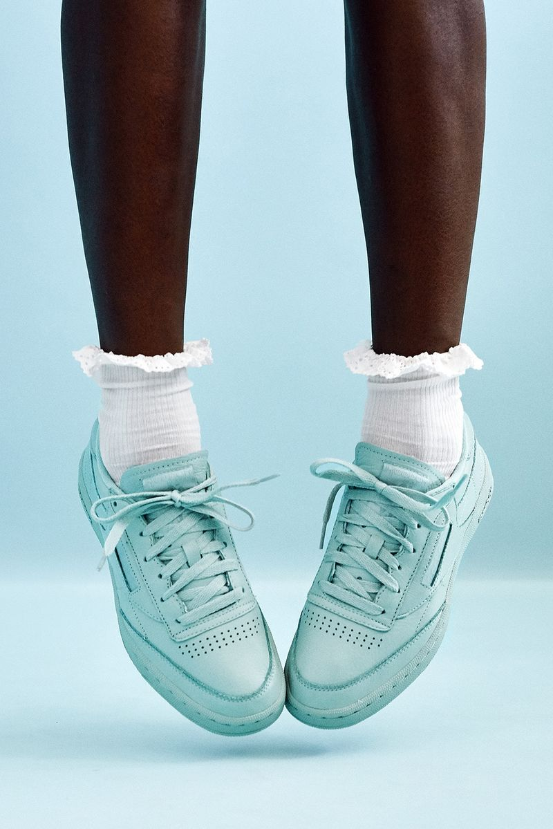 Milkshake-Inspired Footwear Lookbooks