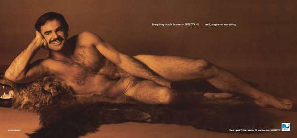 Naked Hairy Shock Advertising