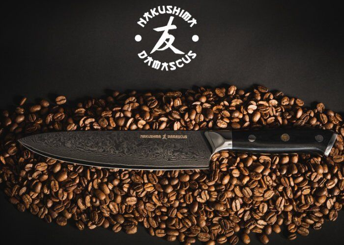 High-End Damascus Kitchen Knives