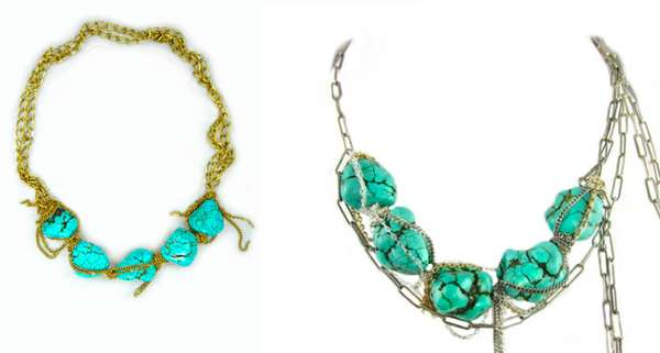 Stunning Aqua Adornments