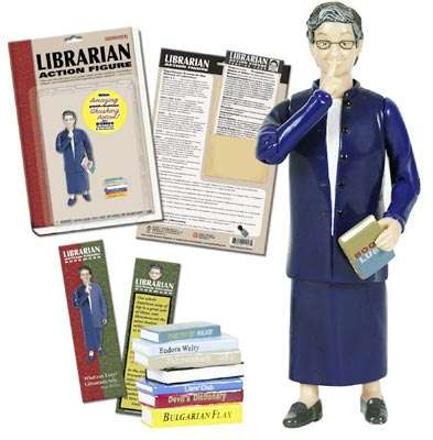 Librarian Action Figures