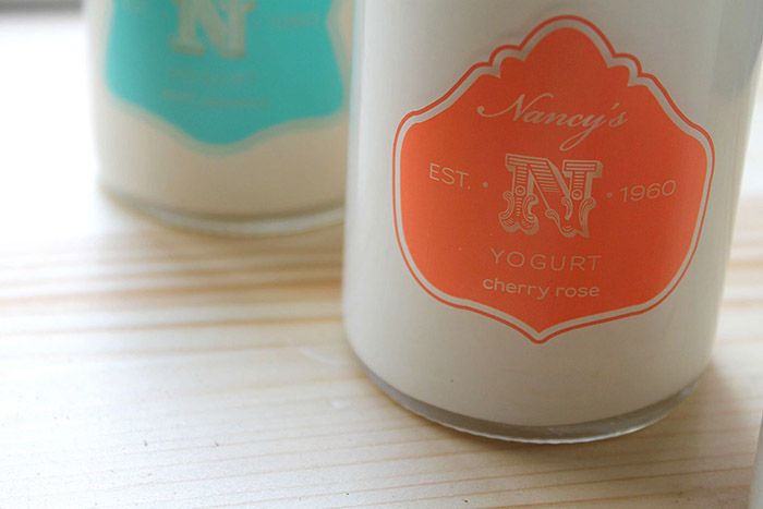 Vintage Yogurt Packaging